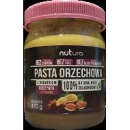 Pasta orzechowa z dodatkiem rodzynek i cynamonu Nutura 470g