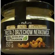 Pasta z orzechów nerkowca Nutura 250g